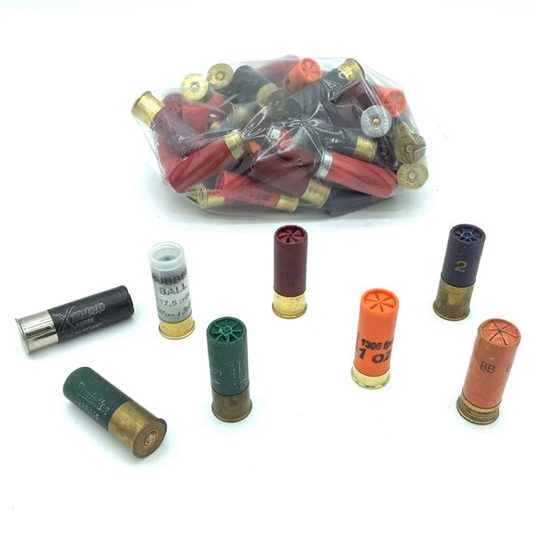 Assorted Loose 12 Ga Ammunition - 51 Rnds