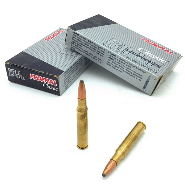 Federal Classic 30 - 06 SPRG Ammunition - 40 Rnds