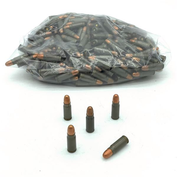 Assorted Loose 7.62 x 25 Ammunition - 382 Rnds