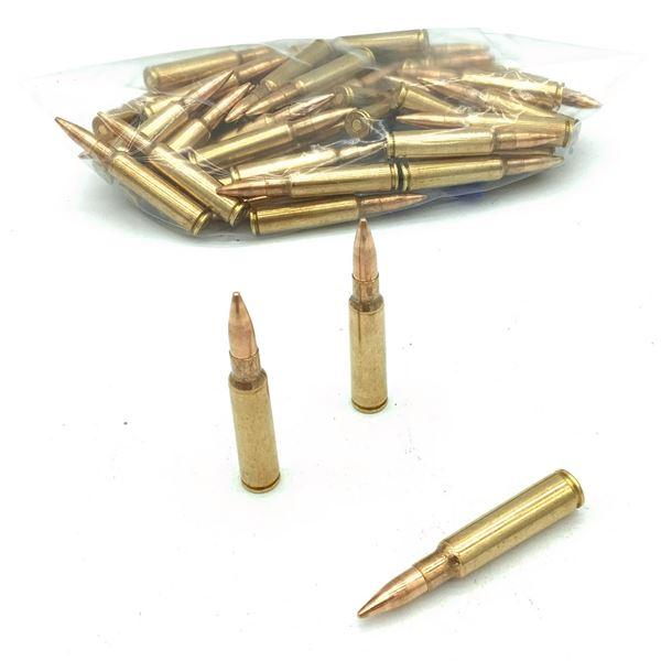 Assorted Loose 7.5 x 55 Swiss Ammunition - 50 Rnds