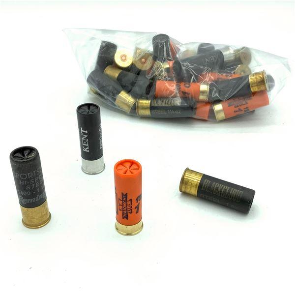 Assorted Loose 12 Ga Ammunition - 30 Rnds