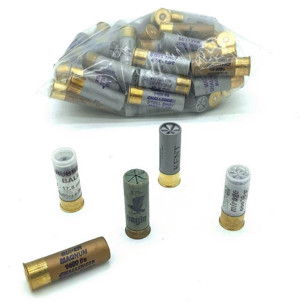 Assorted Loose 12 Ga Ammunition - 61 Rnds