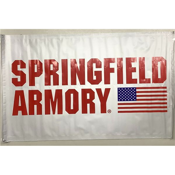 "Springfield Armory Banner 59"" x 36"""