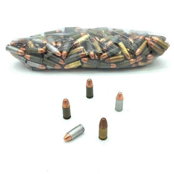 Assorted Loose 9mm Luger Ammunition - 202 Rnds