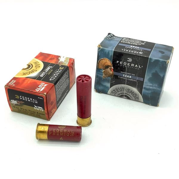 Federal 12 Ga Ammunition - 18 Rnds