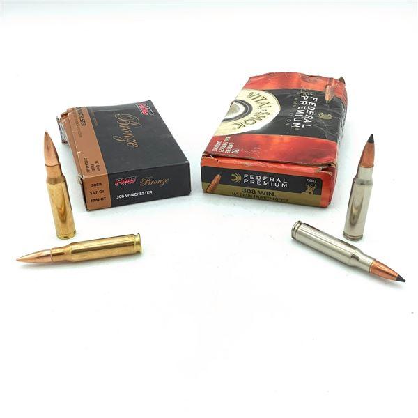 Assorted 308 Win Ammunition - 39 Rnds