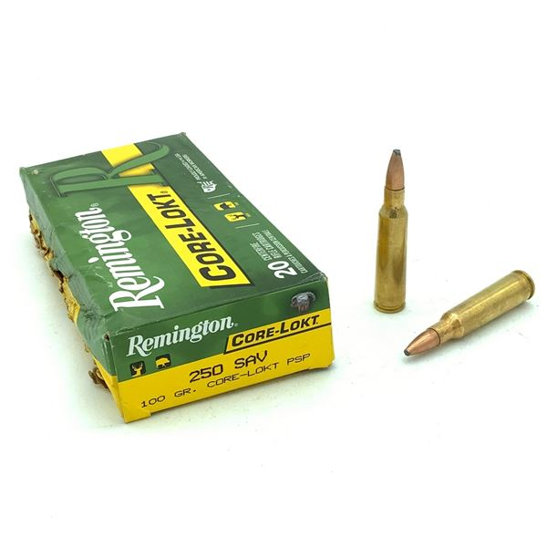 Remington Core-Lokt 250 SAV - 20 Rnds