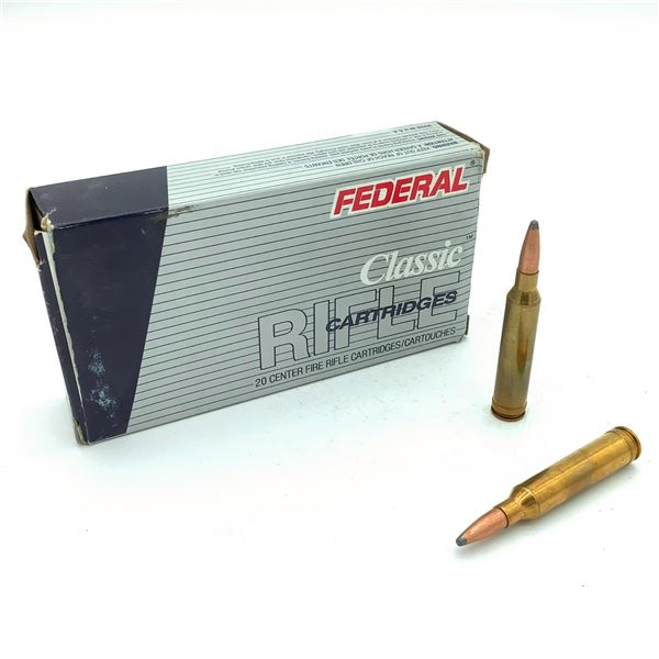 Federal Classic 7mm Rem Mag Ammunition - 20 Rnds