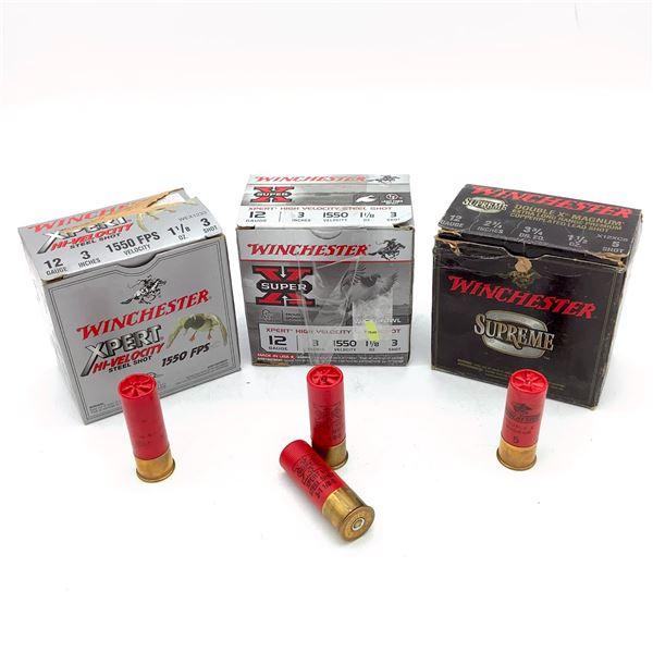 Assorted Winchester 12 Ga Ammunition - 69 Rnds