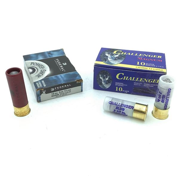 Assorted 12 Ga Ammunition - 15 Rnds