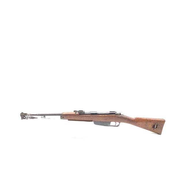 Carcano M38 Surplus Bolt Action Rifle 6.5 X 52mm, Wood Stock