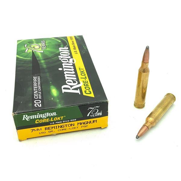 Remington 7mm Rem Mag Ammunition - 16 Rnds
