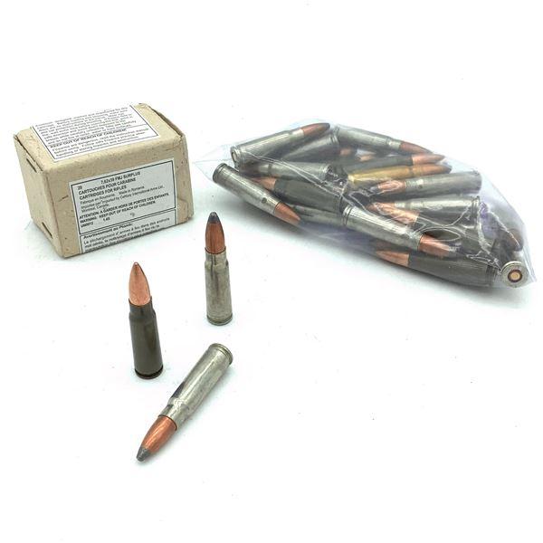Assorted Loose 7.62 x 39 Ammunition - 50 Rnds
