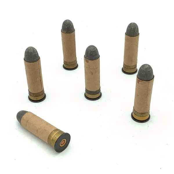 Loose 57 Snider Lead Round Nose Ammunition -  6 Rnds