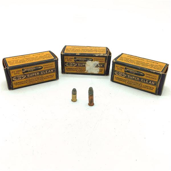 Assorted Dominion 22 LR Ammunition - 37 Rnds