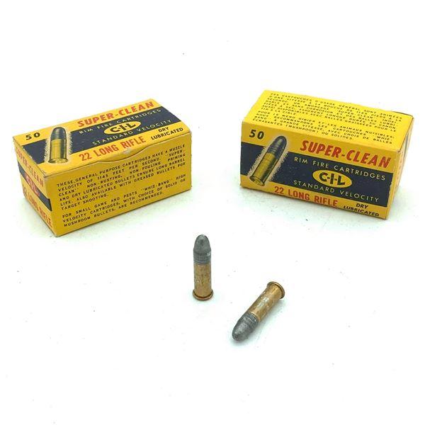 CIL 22 LR Ammunition - 100 Rnds