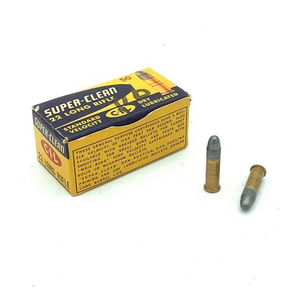 CIL 22 LR Ammunition - 50 Rnds