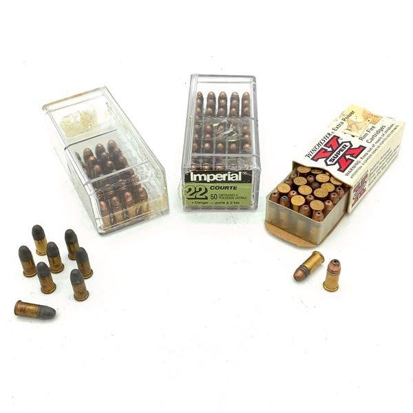 Assorted 22 Short Ammunition - 131 Rnds