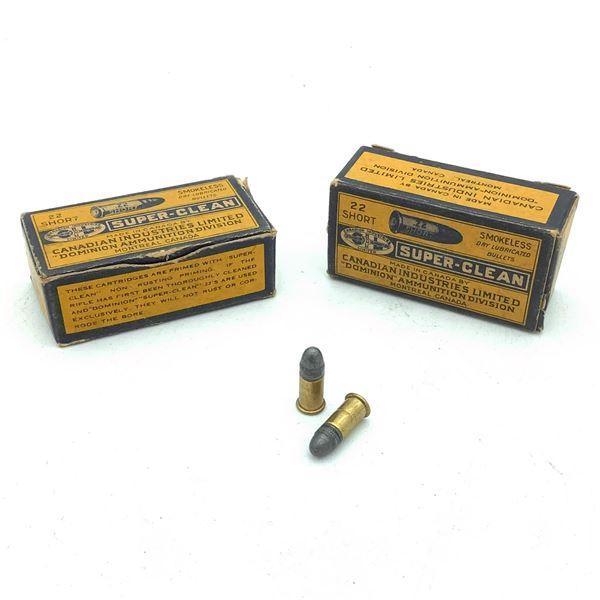 Dominion 22 Short Ammunition - 26 Rnds