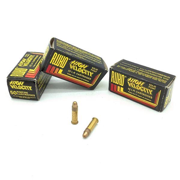 Ruko 22 LR Ammunition - 115 Rnds
