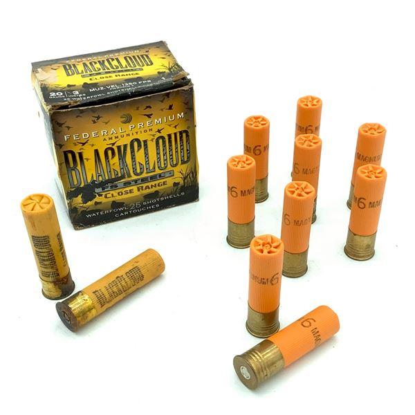 Assorted Loose 20 Ga Ammunition - 27 Rnds