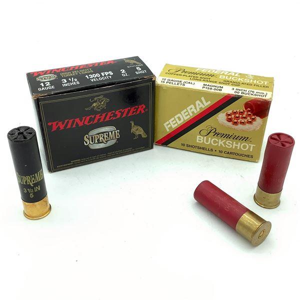 Assorted 12 Ga Ammunition - 19 Rnds