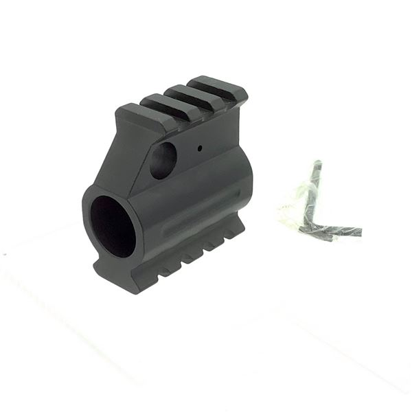 AR15 Railed Gas Block