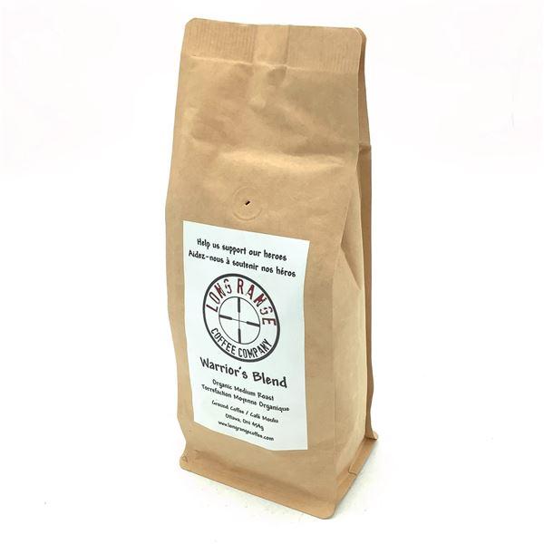 Long Range Coffee Company, Organic Medium Roast - Warrior's Blend