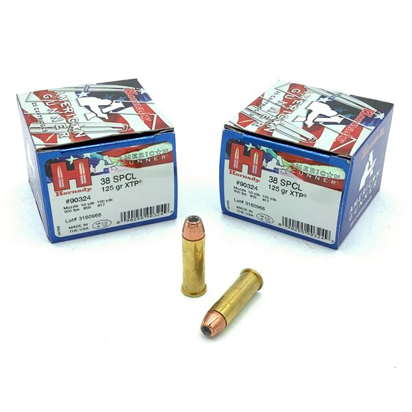 Hornady 38 SPCL Ammunition - 50 Count
