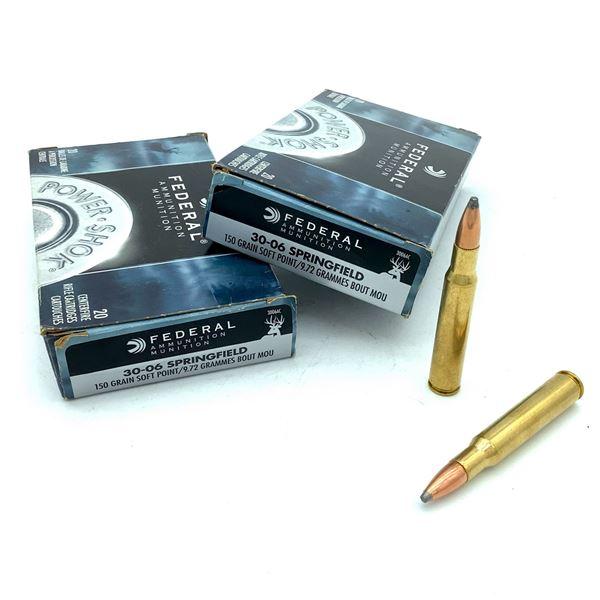 Federal 30-06 Sprg Ammunition -  40 Rnds
