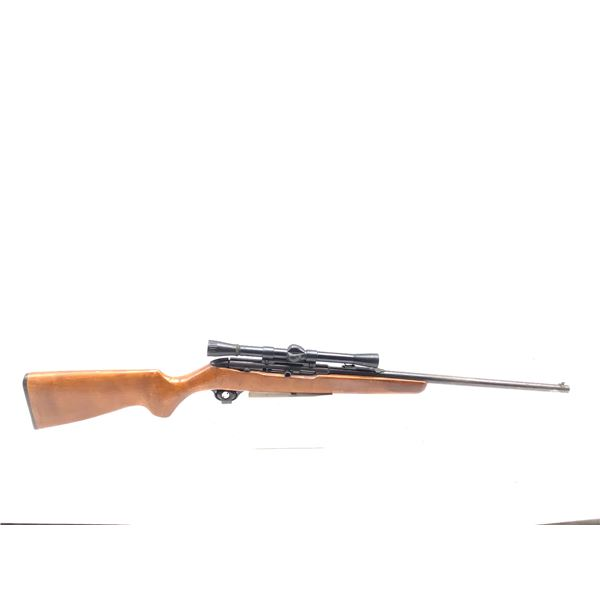 New Haven Model 250C, 22lr, Semi Auto Rifle, with Weaver C6 Scope, Used