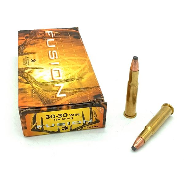 Federal Fusion 30-30 Win Ammunition - 20 Rnds