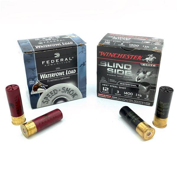 Assorted 12 Ga Ammunition - 50 Rnds