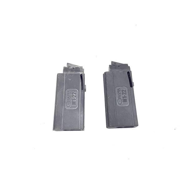 Two Chiappa M1-22 10rd magazines
