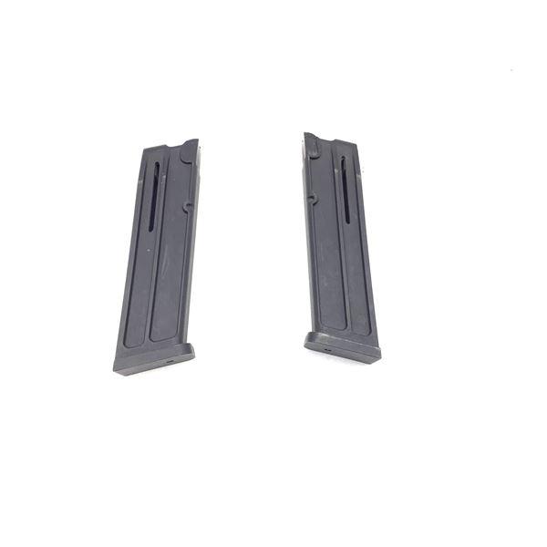 Two Sig Sauer P226, 22lr Magazines