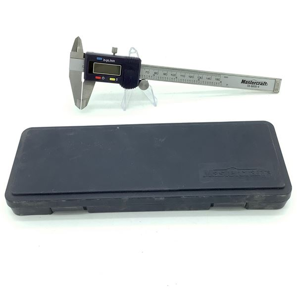 Mastercraft Electronic Caliper With Digital Display