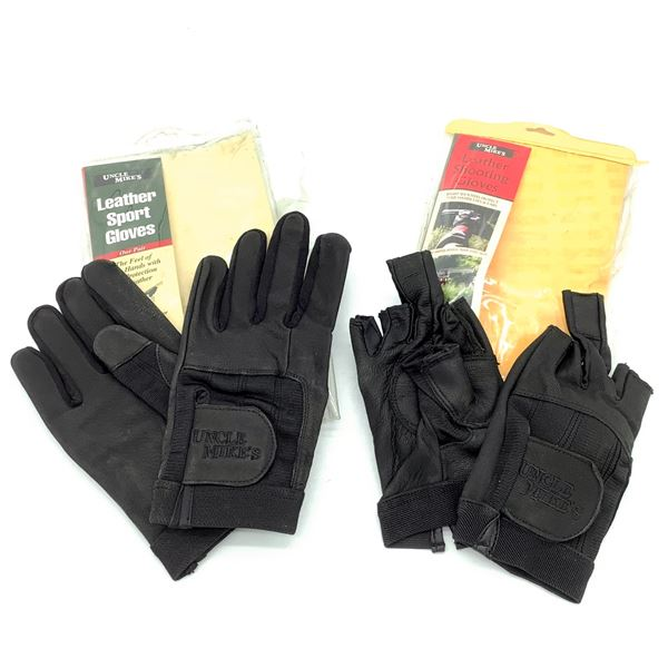 2 Uncle Mike's Gloves M