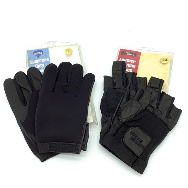 2 Uncle Mike's Gloves XXL