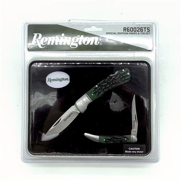 Remington Special Editions Knife & Tin Set