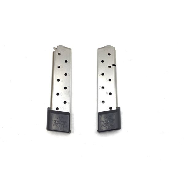 Chip McCormick 1911, 45ACP, 10Rd Mags