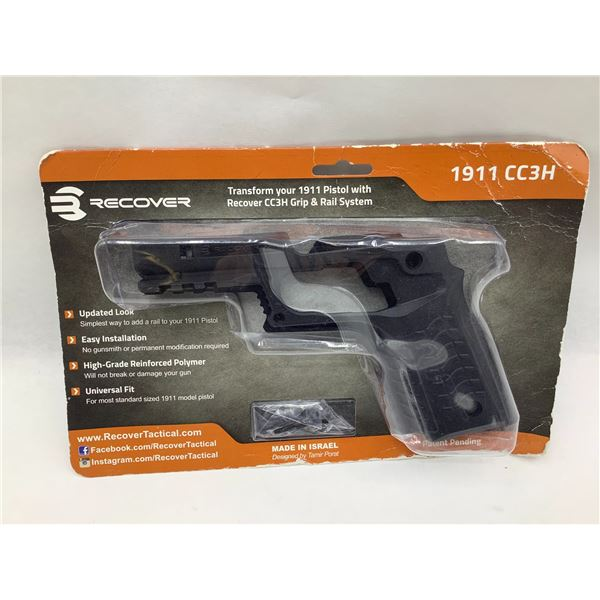 Recover CC3H Grip and Rail System for 1911 Pistols, New
