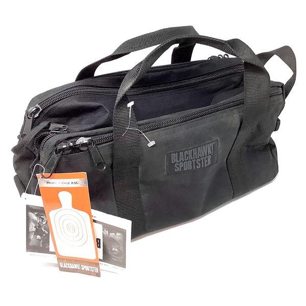 "BlackHawk! Sportster Pistol Range Bag, Black 16"" X 9"" X8"", Display Model"
