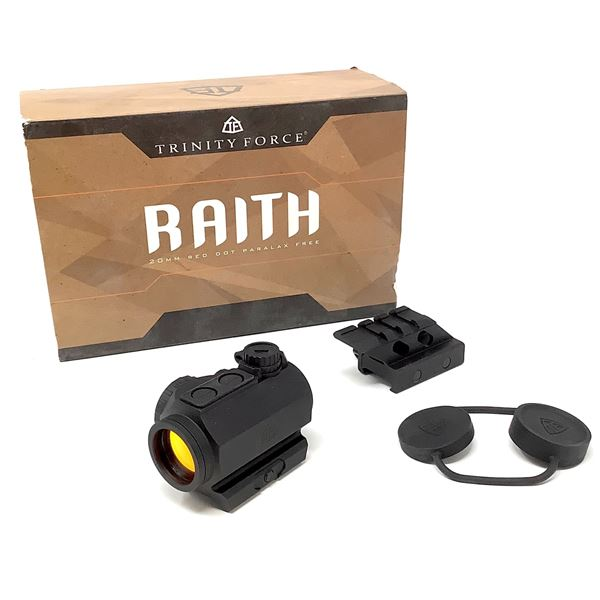 Trinity Force Raith Optic, Red Dot, with Weaver Mount New