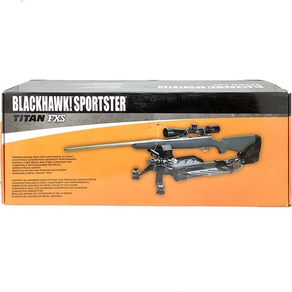 BlackHawk! Sportster Titan FXS Shooting Rest, New