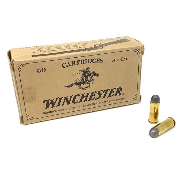 Winchester 44 Special, 240 Gr LFN Cowboy Action Ammunition, 50 Rounds