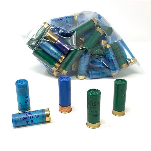 "Loose, Assorted 12 Ga, 2 3/4"" Ammunition - 86 Rounds"