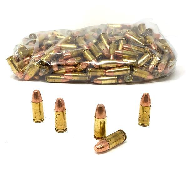 Loose, Assorted 9mm 147 Gr, FMJ Ammunition - 319 Rounds