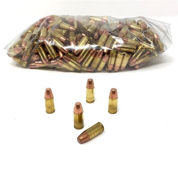 Loose, Assorted 9mm 147 Gr, FMJ Ammunition - 307 Rounds