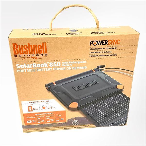 Bushnell Solar Book 850 Portable Battery Power, New