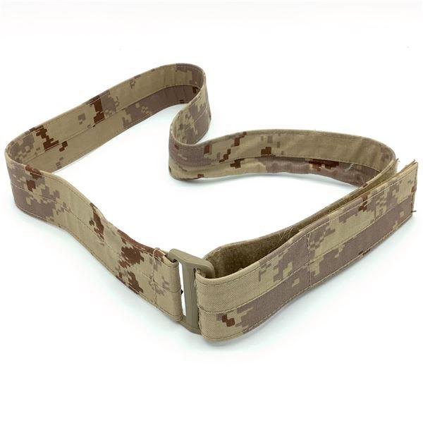 "Arid Cadpat Velcro Belt, 38"""